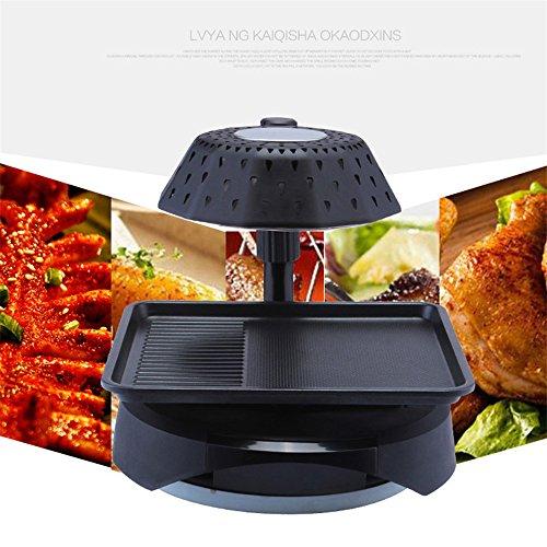 Vogvigo Outdoor Portable Electric Smokeless Grill 3D Infrared Barbecue Stove Barbecue Grill