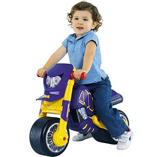 Rutschermotorrad, breite Reifen, geeignet für Innen und Außen, 69 x 51 cm: Laufrad Kinder Motorrad Roller Rutschfahrzeug Kinderbike Lauflernrad Lernlaufrad - 2