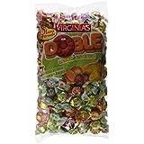 Virginias - Doble - Surtido de caramelos de dos piezas con sabor de frutas - 930 g - [Pack de 2]