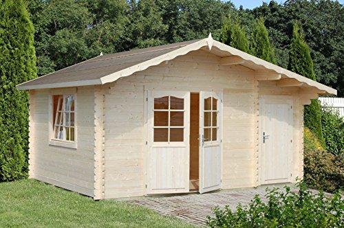 Casa de madera para jardín 14,3 m2