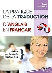 Pratique de la traduction d'anglais en français