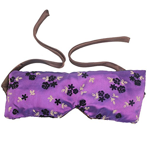 Tfrdertuuigf Essence Blindfold lavanda riempito aromaterapia sonno Eye Mask (viola & # (Sonno Eye Mask)