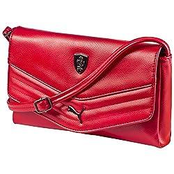Puma Women's Handbag (Rosso Corsa)