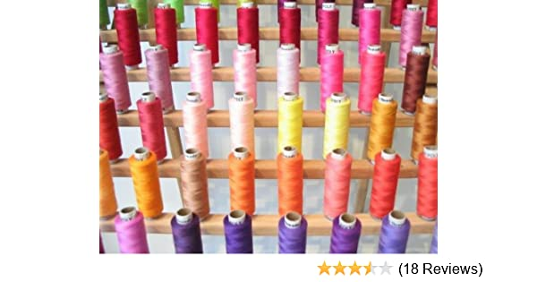 Regular Colors New 100 Spools of Poly All Purpose Sewing//Quilting THREADs 327yd ND