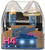 Unitec 77766 Hauptscheinwerferlampen H4 Xenon Gold 12V 60/55W, 2er-Set