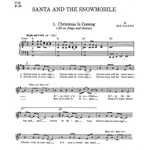 Santa And The Snowmobile (5 Pack Choral