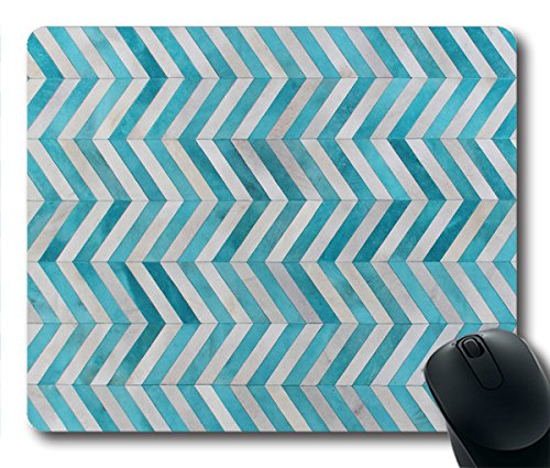 Preisvergleich Produktbild TOM Mousepad türkis Teppich Stil 24cm durch 20cm Rechteck Form Mauspad natürlichen Eco Gummi Durable Computer Desk Stationery Zubehör Maus Pads für Geschenk t160617029