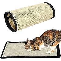 Hihamer alfombra griffoir Nature para gatos–en sisal resistente producto natural–Sin Substances químicos–40x 30cm