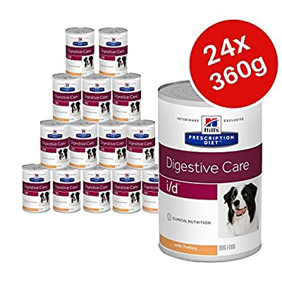 Hills Prescription Diet Canine i/d Digestive Care, Canned Dog Food 360g - Turkey (Pack of 24) by Hill's Prescription Diet