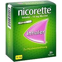 Preisvergleich für Nicorette Inhaler 15 mg, 20 St.