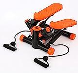 Stepper Swing Stepper Einschließlich Widerstand Cords/Aerobic Step höhenverstellbar Level, die Dual Hydraulikzylinder halten Sie stabil und auf Tempo, Pure Fitness Mini Stepper