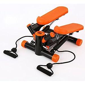 TB Stepper Swing Stepper Einschließlich Widerstand Cords/Aerobic Step höhenverstellbar Level, die Dual Hydraulikzylinder halten Sie stabil und auf Tempo, Pure Fitness Mini Stepper