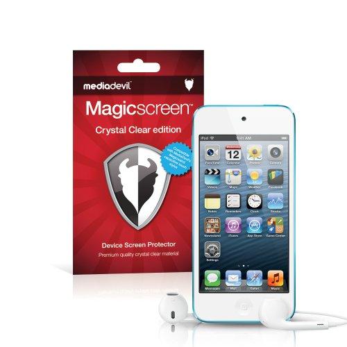MediaDevil Apple iPod Touch 5./6. Generation (2012-2015) Displayschutzfolie: Magicscreen Crystal Clear (Unsichtbar) Edition - (2 x Schutzfolien)