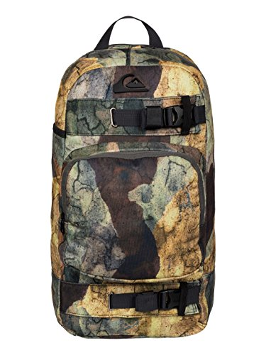 Quiksilver Nitra Ted M Backpack, hombre, Backpack Nitrated M, multicolor, 40 x 60 x 2 cm, 16 Liter