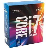 Intel Core i7-7700K - Procesador con Tecnología Kaby Lake (Socket LGA1151, Frecuencia 4.2 GHz, Turbo 4.5 GHz, 4 Núcleos, 8, Subprocesos, Intel HD Graphics 630)