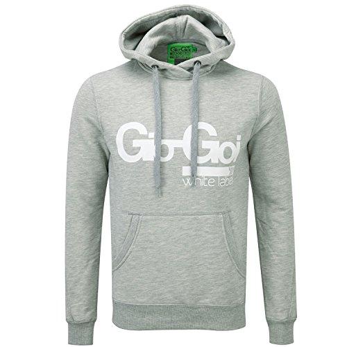 Gio-GoiHerren Kapuzenpullover Grau Misty Marl