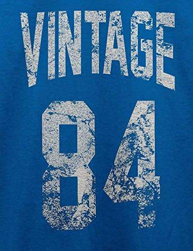 Vintage 1984 T-Shirt Royal Blau