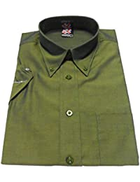 Warrior RICO 2Tone Tonic Green Short Sleeve Shirt