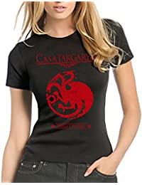 Camisetas La Colmena 212-Juego de Tronos - Casa Targaryen Disponible EN Camiseta o Taza