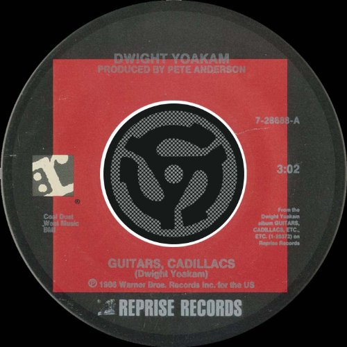 Guitars, Cadillacs (45 Version)