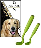 Tick Remover Tool (Pack of 2) by Posh Pet Supplies - 100% Authentic & Genuine - Purpose Designed Tick Removal Tool to Remove Ticks of all Sizes - Free BONUS 'Ticks Information for Pet Owners' - Lifetime Guarantee!