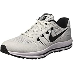 Nike Air Zoom Vomero 12, Scarpe da Corsa Uomo, Bianco (White/Black/Pure Platinum), 43 EU