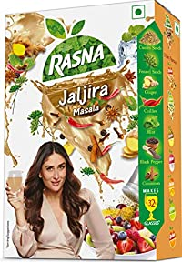 Rasna Fresh Fun 32 Glass monocarton, Jaljira Masala Pack of 5
