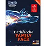 Bitdefender Family Pack 2016 gives you unmatched cyber-security for ALL the Windows, Mac and Android devices in your home. It includes a variety of features designed to keep your family safe across platforms and devices. Bitdefender is amazingly powe...