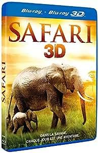 Safari 3D Combo Blu-ray + Blu-ray 3D [Blu-ray 3D]