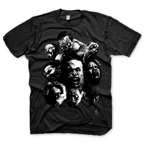 Resident Evil 6 T-Shirt - Zombie Mosaic, black, Größe (Kostüme Resident Evil)