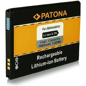 Samsung EB504465VU Batterie Li-Ion pour Samsung Wave 2 S8530/Omnia Pro B7610/Galaxy Spica I5700