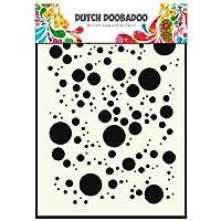 Dutch Doobadoo Maschera per Stencil, formato A5, motivo: bolle#017