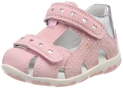 Superfit Baby Mädchen Fanni Sandalen, Pink (Rosa Kombi), 22 EU