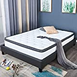 4FT6 Double Mattress Breathable Bamboo Soft Fabric with Pocket Sprung Mattresses and Memory