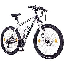 """NCM Prague+ 36V, 26"""" / 27,5"""" Zoll E-MTB, Mountainbike E-Bike, 250W Bafang Heckmotor, 14Ah 504Wh Akku + Panasonic Li-Ion Zellen, hydraulische Tektro Scheibenbremsen, 24 Gang Schaltung, Designer-Rahmen"""