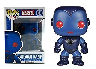 Marvel BLEU STEALTH IRON-MAN Funko Pop! Bobble-Head vinyle Figurine Exclusive