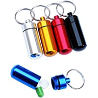 Ouken Aluminium-Medizin-Flasche im Freien Wasserdichte Medizin-Box (zufällige Farbe) preisvergleich bei billige-tabletten.eu