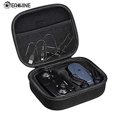 EACHINE Waterproof Portable EVA Hard Handbag Storage Bag Carrying Case E58 RC Drone Quadcopter…