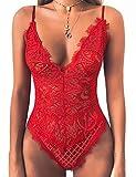 popiv Body Femme Sexy Lingerie Nuisette Erotique Tenue Dentelle sous-vêtements