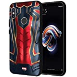 MTT Spider Man Infinity War Officially Licensed Armor Back Case Cover for Redmi Note 5 Pro (Design 272)