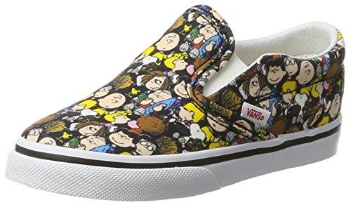 Vans Unisex Baby Peanuts Classic Slip-on Sneaker Mehrfarbig (The Gang/Black), 19 EU