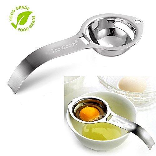 uovo separatore tuorlo d\' uovo bianco filtro food grade uovo separatore uovo in acciaio INOX setaccio Kitchen gadget Cooking/Baker Tool Egg estrattore