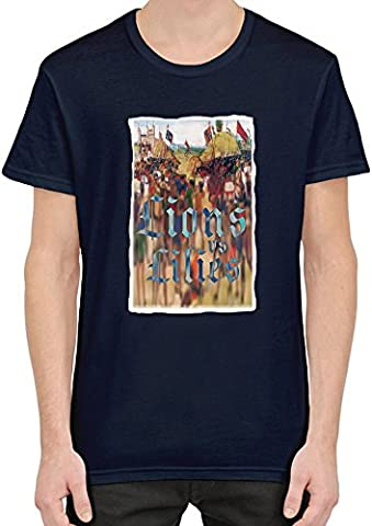 Lions and lilies T-Shirt Homme XX-Large