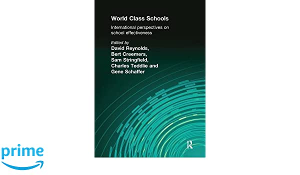 International Perspectives on School Effectiveness