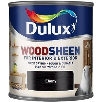 Quick Drying Interior/Exterior Woodsheen EBONY 750ML