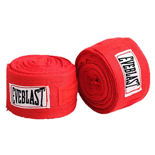 Morza 2 Rollos de algodón 3M Deportes Correa de Boxeo Vendaje de Sanda Muay Thai Guantes de Taekwondo Mano Wraps