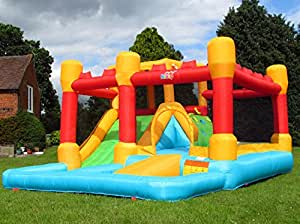 bebop aire de jeux gonflable et toboggan aquatique fortress de jeux et jouets. Black Bedroom Furniture Sets. Home Design Ideas