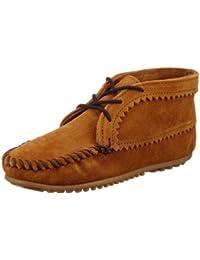 MINNETONKA - Suede Ankle Boot - Marron