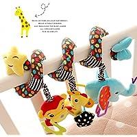 Lomire Espiral de actividades Cama y Cochecito de Juguete Infantil con Dispositivo BB Colgando Cuna Sonajero Bebé Kids Toys Juguetes