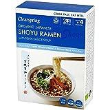 Clearspring Fideos Ramen Shoyu Japoneses Orgánicos Con 170g Sopa De Salsa De Soja (Paquete de 6)